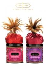 Poudre corporelle embrassable - Kamasutra : Poudre corporelle Honey Dust parfumée et comestible, pour vos jeux coquins et/ou prendre soin de votre corps.