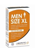 Men Size XL (60 gélules) : Complément alimentaire à base de plantes permettant de renforcer la virilité et améliorer l'érection.