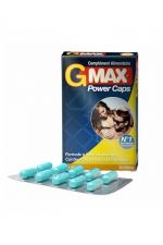 G-Max Power Caps Homme (10 gélules) : Une érection plus vigoureuse qui dure plus longtemps? G-MAX est le complément alimentaire aphrodisiaque pour hommes n1 en France.