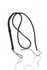 Fouet long cuir : Un trés long fouet en cuir pour dresser votre animal favori.
