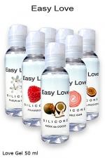 Love Gel parfumé 50 ml : Gel 2 en 1 made in france et haute qualité (lubrification et massages)7 parfums au choix.