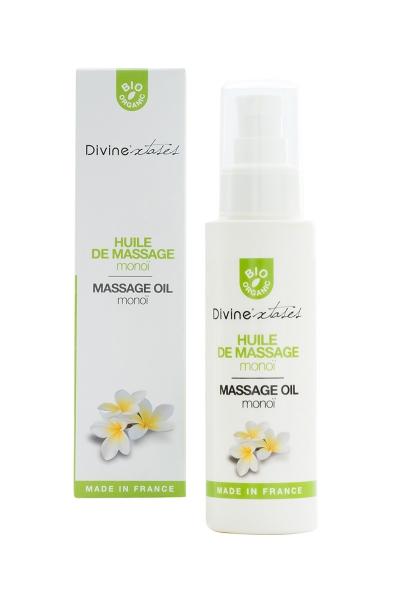 Huile de massage BIO Monoi - Divinextases