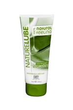 Lubrifiant Naturel Aloe Vera 30ml - HOT : Lubrifiant intime à base d'eau contenant de l'Aloe Vera et des produits naturels. Tube de voyage de 30 ml.