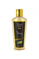 Huile sèche sans parfum : Huile de massage sèche sans parfum pour des massages aussi relaxants que bons pour le corps.