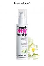 Fluide massage & lubrifiant  - monoï