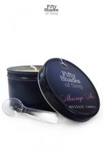 Bougie de massage - Fifty Shades of Grey : Bougie de massage Massage Me, goûtez aux caresses sensuelles d'un massage érotique