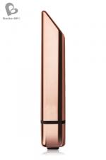 Stimulateur Bamboo 10 - Rocks Off : Un petit vibro discret et élégant,  ressemblant à un rouge à lèvres classe et doté de 10 modes de vibrations puissants.