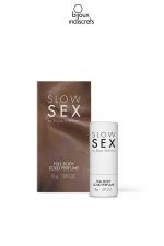 Parfum corporel solide - 8g : Parfum à la noix de coco spécialement étudié pour les parties intimes dans le respect du corps