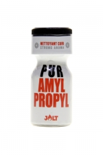Poppers Pur Amyl-Propyl Jolt 10ml : Arôme d'ambiance hybride (un mix d'Amyle et de Propyle) de la collection PUR de Jolt, en flacon de 10 ml.