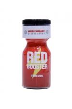 Poppers Red Booster 10ml : Un puissant arôme d'ambiance aphrodisiaque à base d'amyle, pour profiter à fond des plaisirs du sexe et des moments de fête.