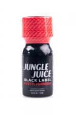 Poppers Jungle Juice Black Label Pentyl 15ml : Un arôme d'ambiance avec une pureté exceptionnelle associé à une formulation au pentyle pour des sensations de folie !