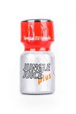 Poppers Jungle Juice plus 10ml : Une déclinaison puissante, à base d'Isopropyle, de l'arôme d'ambiance aphrodisiaque Jungle Juice (flacon de 10 ml).