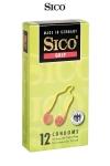 12 préservatifs Sico GRIP