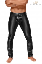 Pantalon wetlook H051